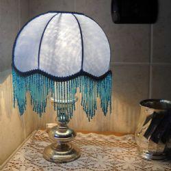 Cupoletta chiara con perline